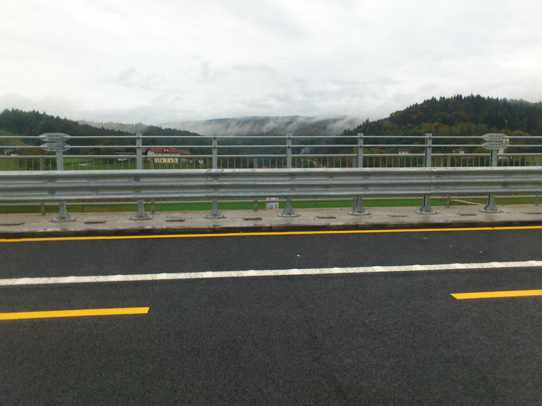 Zaštitne odbojne ograde na objektu