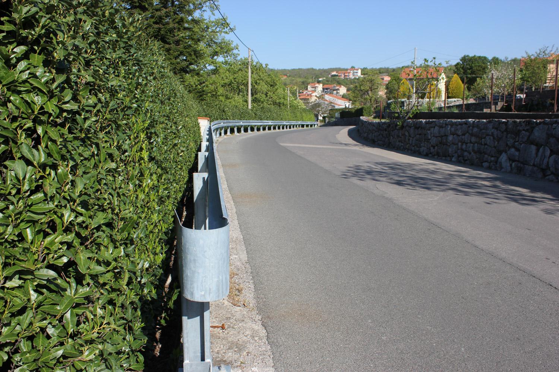 Odbojna ograda na objektu - tiplana
