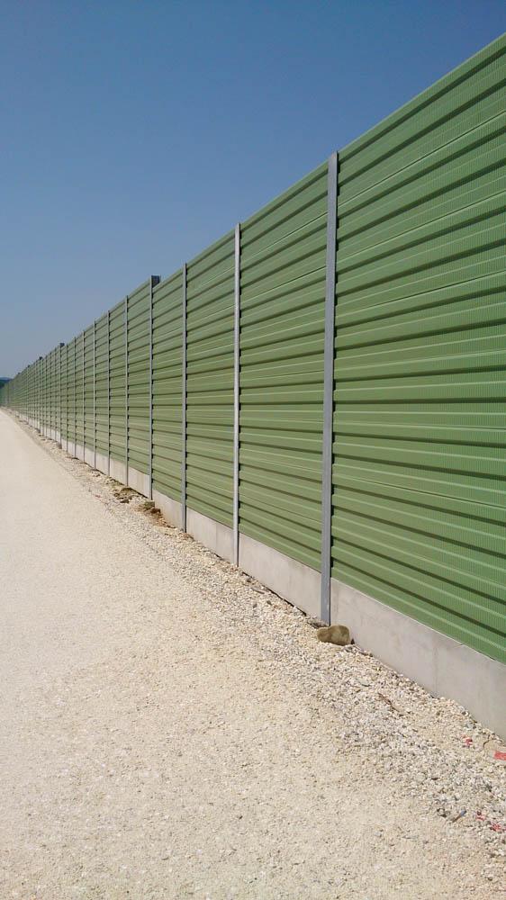 Zaštita od buke (aluminijski paneli)